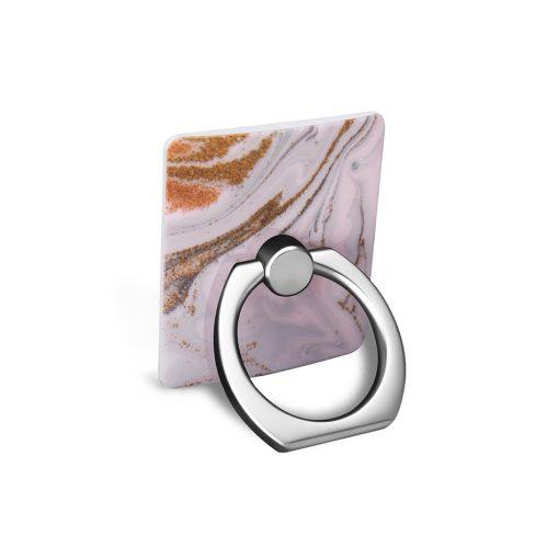 Ring Holder Coffee Swirl i Semi-mjuk plast