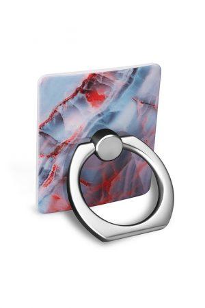 Ring Holder Ice Marble i Semi-mjuk plast
