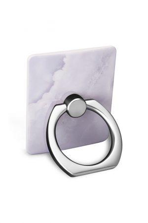 Ring Holder White Stone i Semi-mjuk plast