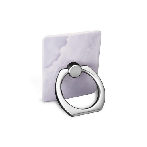 Ring Holder White Stone i Semi-mjuk plast