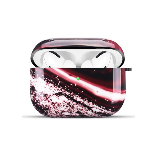 Mobello Soft Poly Airpods Pro cover - Red Onyx