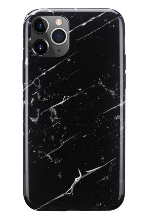 Mobello Soft Poly Black Marble iPhone 11 Pro i Semi-mjuk plast