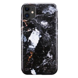 Mobello Soft Poly Charcoal iPhone 11 i Semi-mjuk plast