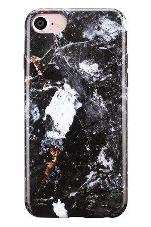 Mobello Soft Poly Charcoal iPhone 7 i Semi-mjuk plast