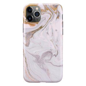 Mobello Soft Poly Coffee Swirl iPhone 11 Pro i Semi-mjuk plast