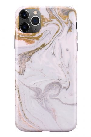 Mobello Soft Poly Coffee Swirl iPhone 11 Pro Max i Semi-mjuk plast