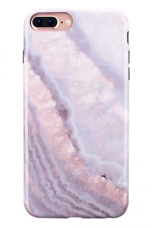 Mobello Soft Poly Crystal Stone iPhone 7 Plus i Semi-mjuk plast