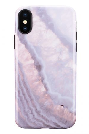 Mobello Soft Poly Crystal Stone iPhone X i Semi-mjuk plast