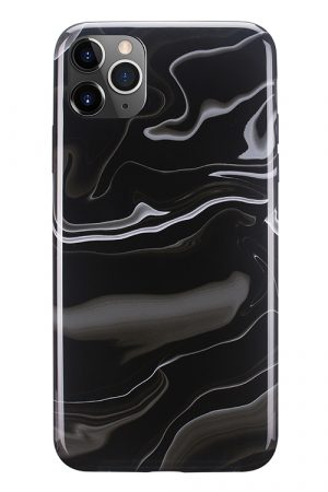Mobello Soft Poly Elusive Black iPhone 11 Pro Max i Semi-mjuk plast