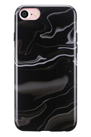 Mobello Soft Poly Elusive Black iPhone 7 i Semi-mjuk plast