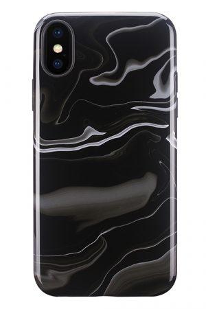 Mobello Soft Poly Elusive Black iPhone X i Semi-mjuk plast