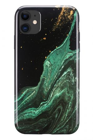 Mobello Soft Poly Emerald River iPhone 11 i Semi-mjuk plast