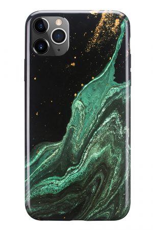 Mobello Soft Poly Emerald River iPhone 11 Pro Max i Semi-mjuk plast