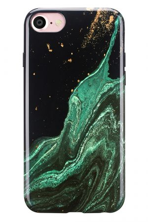Mobello Soft Poly Emerald River iPhone 7 i Semi-mjuk plast