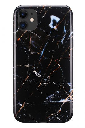 Mobello Soft Poly Galaxy Marble iPhone 11 i Semi-mjuk plast