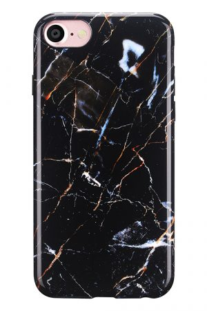 Mobello Soft Poly Galaxy Marble iPhone 7 i Semi-mjuk plast