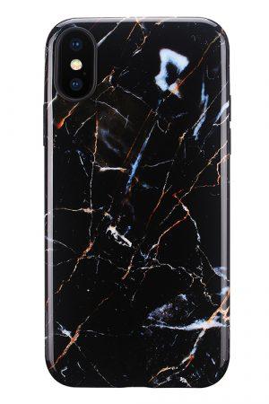 Mobello Soft Poly Galaxy Marble iPhone X i Semi-mjuk plast
