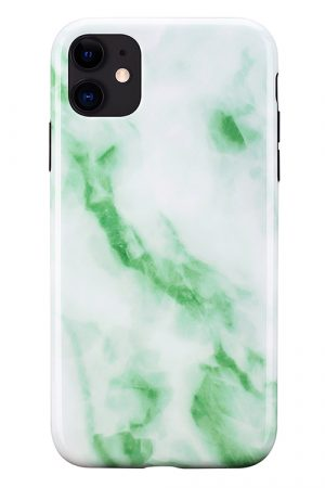 Mobello Soft Poly Jade Marble iPhone 11 i Semi-mjuk plast