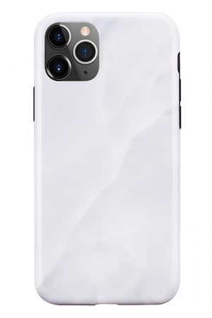 Mobello Soft Poly White Stone iPhone 11 Pro i Semi-mjuk plast
