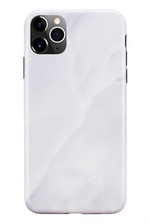 Mobello Soft Poly White Stone iPhone 11 Pro Max i Semi-mjuk plast
