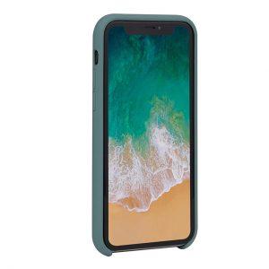 Mobello Velvet Silicon Grön - iPhone 11 Pro