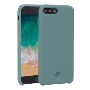 Mobello Velvet Silicon Grön - iPhone 8 Plus