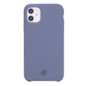 Mobello Velvet Silicon Lila - iPhone 11