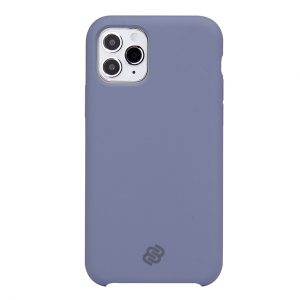 Mobello Velvet Silicon Lila - iPhone 11 Pro