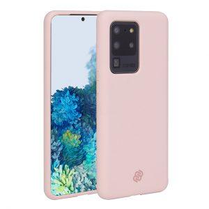 Mobello Velvet Silicon Rosa - Galaxy S20 Ultra