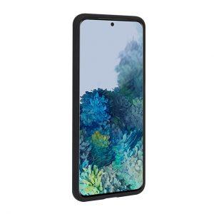 Mobello Velvet Silicon Svart - Galaxy S20