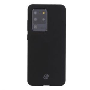 Mobello Velvet Silicon Svart - Galaxy S20 Ultra