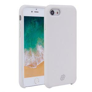 Mobello Velvet Silicon Vit - iPhone 7/8/SE