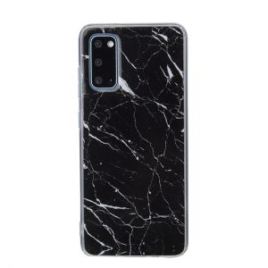 PopCase Black Marble - Galaxy S20