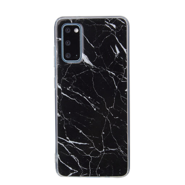 PopCase Black Marble Soft Case