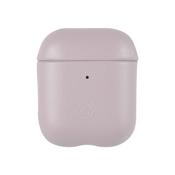 Slim Leather Coral Pink Airpods 1/2