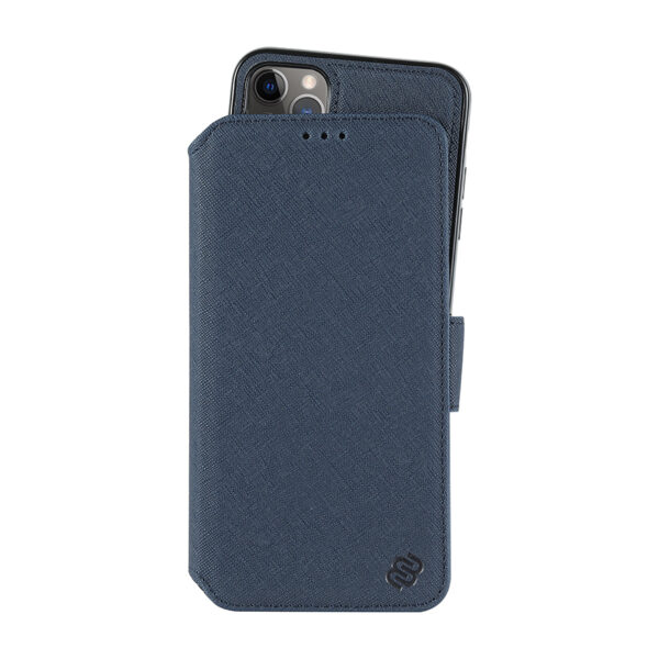 Saffiano Wallet Admiral Blue iPhone 11 Pro